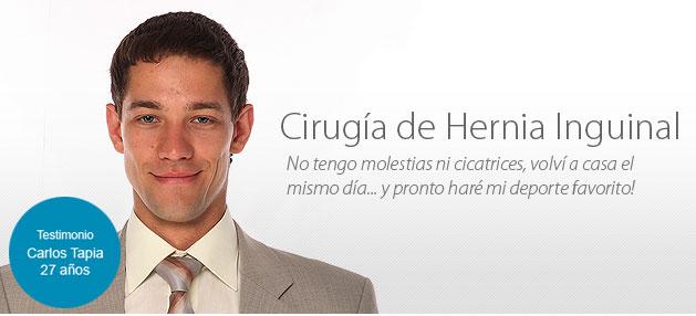 Cirugía Ambulatoria de Hernia, Herniorrafia Inguinal Laparoscópica ...